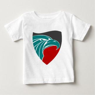 Camiseta Para Bebê Força e orgulho de Eagle