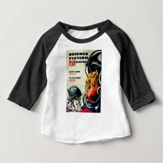 Camiseta Para Bebê Formigas do robô