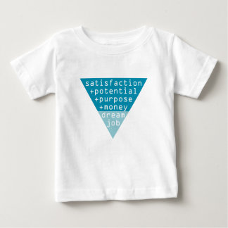 Camiseta Para Bebê fórmula ideal do trabalho
