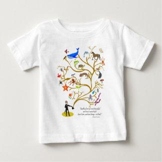 Camiseta Para Bebê Formulário infinito