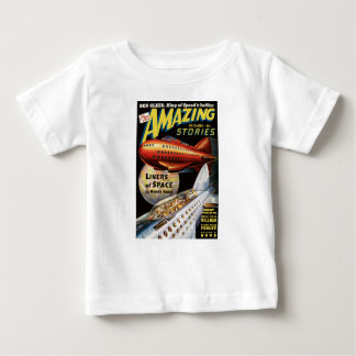 Camiseta Para Bebê Forros do espaço
