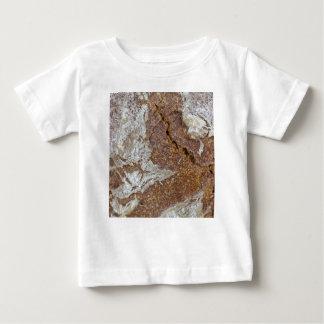 Camiseta Para Bebê Foto macro da superfície do pão de mistura de Ger