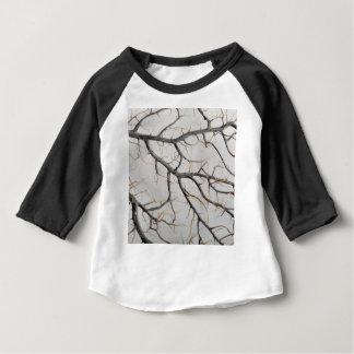 Camiseta Para Bebê Foto macro de um coral gorgonian seco