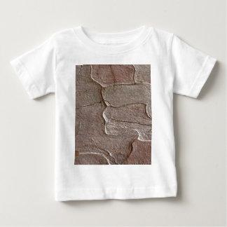 Camiseta Para Bebê Foto macro do latido do pinho