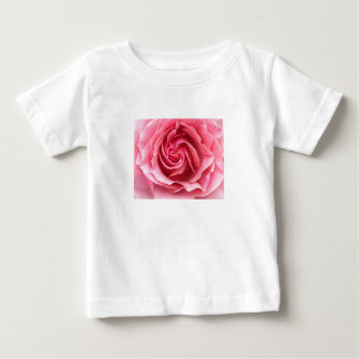 Camiseta Para Bebê Fotografia do rosa do rosa na t-camisa da criança