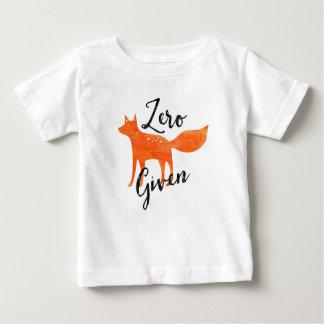 Camiseta Para Bebê Fox zero dado