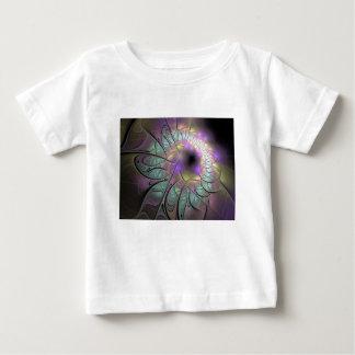Camiseta Para Bebê Fractal bonito