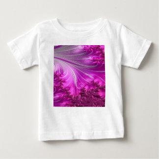 Camiseta Para Bebê fractal scurfy 2 da obsidiana