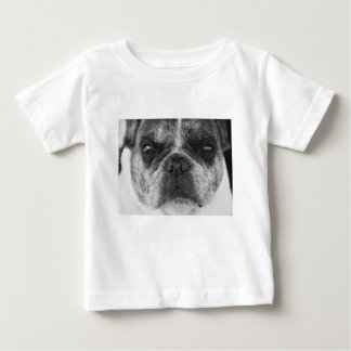 Camiseta Para Bebê francês-buldogue