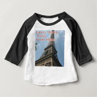 Camiseta Para Bebê Francês do verão 2016 de Paris France da torre