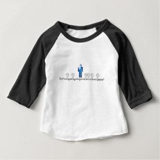Camiseta Para Bebê Francês-Pai