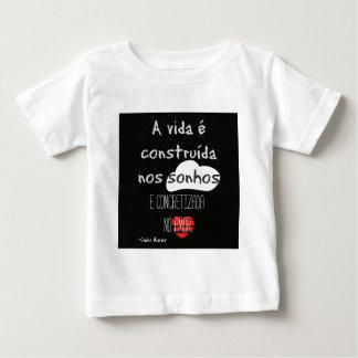 Camiseta Para Bebê Frase Chico Xavier