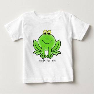 Camiseta Para Bebê Freddie o sapo, bonito