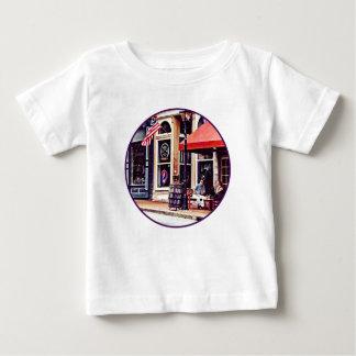 Camiseta Para Bebê Fredericksburg VA - Café exterior