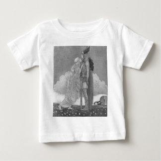 Camiseta Para Bebê Freja e Svipdag por John Bauer