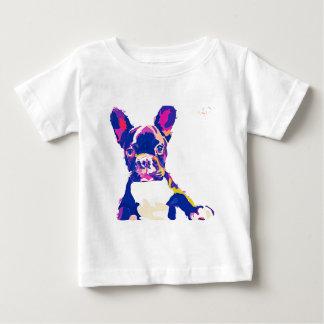 Camiseta Para Bebê French Bulldog