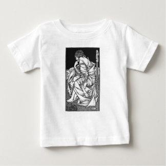 Camiseta Para Bebê Frey assentou no trono de Odin