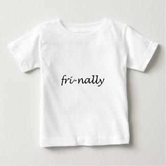 Camiseta Para Bebê Fri-nally