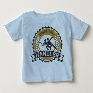 Camiseta Para Bebê Frisbee final - o alimentador pequeno do pai