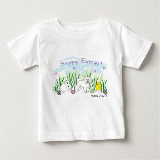 Camiseta Para Bebê frise do bichon