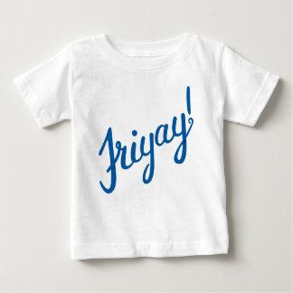 Camiseta Para Bebê Friyay!