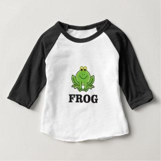 Camiseta Para Bebê frogger do sapo