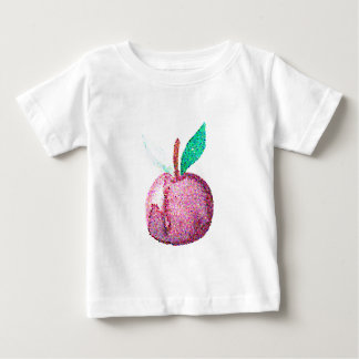 Camiseta Para Bebê Fruta do hipster