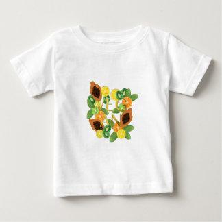 Camiseta Para Bebê Fruta do Vegan