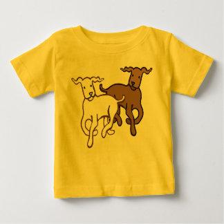 Camiseta Para Bebê Funcionamento dos cães