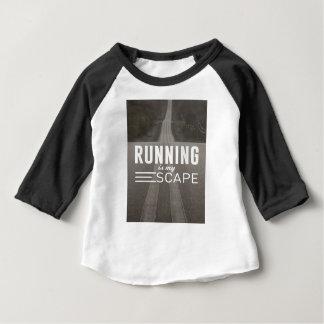 Camiseta Para Bebê Funcionar é meu escape