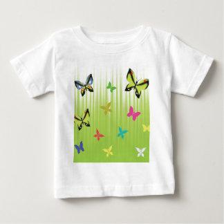 Camiseta Para Bebê fundo 102Green _rasterized