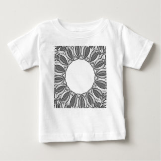 Camiseta Para Bebê fundo artístico do caleidoscópio