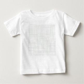 Camiseta Para Bebê Fundo branco do efeito do Grunge