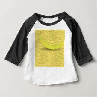 Camiseta Para Bebê Fundo da banana