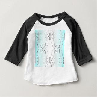 Camiseta Para Bebê Fundo decorativo