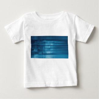 Camiseta Para Bebê Fundo do mosaico da tecnologia como uma arte do