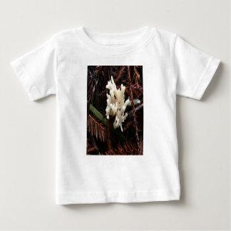 Camiseta Para Bebê Fungo coral do marfim