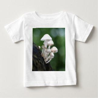 Camiseta Para Bebê Fungo da porcelana, mucida de Oudemansiella