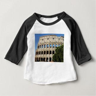 Camiseta Para Bebê furos e arcos