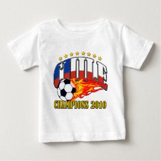 Camiseta Para Bebê Futebol do Chile