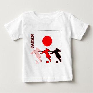 Camiseta Para Bebê Futebol Japão