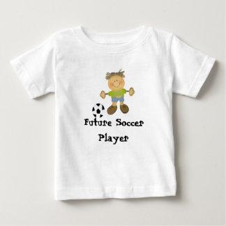 Camiseta Para Bebê futebol, jogador de futebol futuro