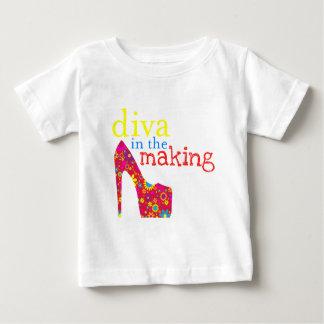 Camiseta Para Bebê Futuro diva baby tshirt
