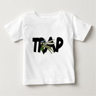 Camiseta Para Bebê Gafanhoto da armadilha