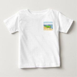 Camiseta Para Bebê Gafanhoto do Bugly o livro da borboleta