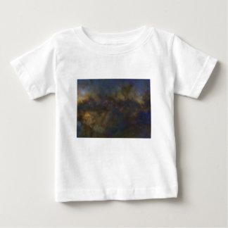 Camiseta Para Bebê Galáxia abstrata com nuvem cósmica