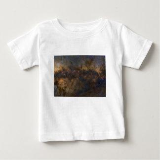Camiseta Para Bebê Galáxia abstrata com nuvem cósmica 2