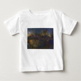 Camiseta Para Bebê Galáxia abstrata com sml cósmico da nuvem