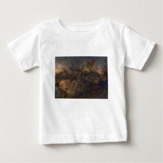 Camiseta Para Bebê Galáxia abstrata com sml cósmico da nuvem 2