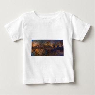 Camiseta Para Bebê Galáxia abstrata de Milkyway com nuvem cósmica 3